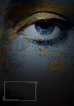 保护地球水资源海报背景