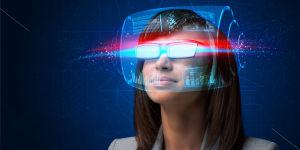 VR眼镜VR海报设计