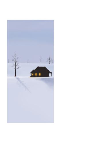 冬至季节风景美图