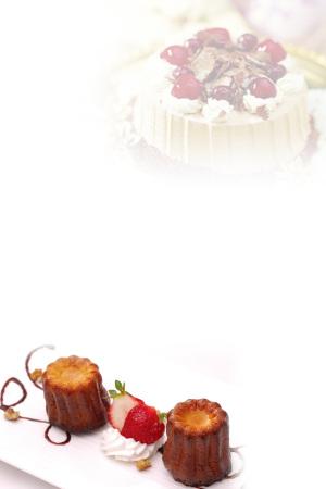 蛋糕DIY海报背景素材