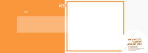 橘色设计banner