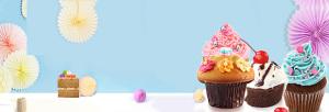 甜品美食宣传banner设计