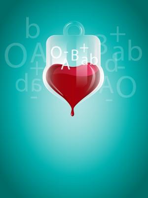 爱心公益无偿献血公益海报背景