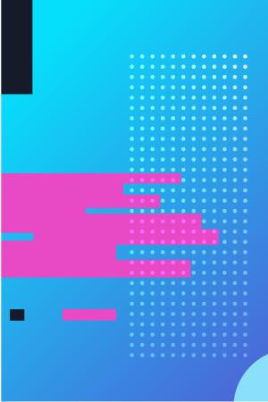 UI素材点线蓝色矢量背景