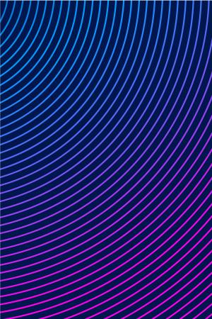 UI素材线条蓝紫色矢量背景