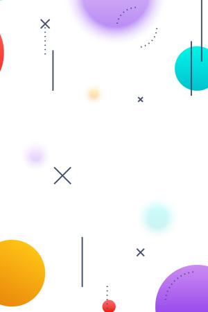 UI素材点线白色矢量背景