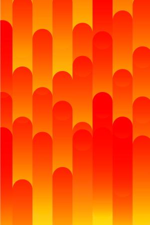UI素材几何图形红色矢量背景