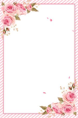 粉色唯美38女王节妇女节海报