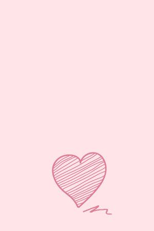 粉色手绘爱心520表白背景