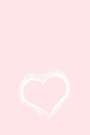 粉色爱心520纯色表白背景