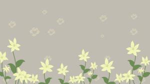 素雅花丛背景图片