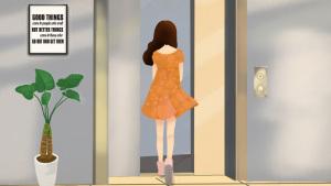 城市生活之坐电梯