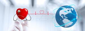 公益鲜血治疗大爱救助创意合成图