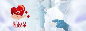 公益献血治疗大爱救助创意合成图