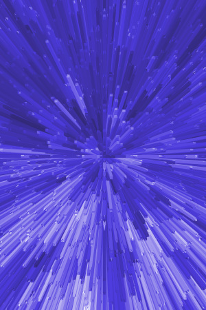 3D立体放射状柱体背景