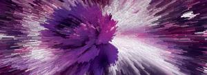 紫色3D柱体立体背景
