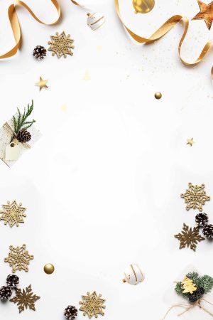 白色圣诞主题背景