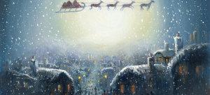 圣诞节背景模板下载