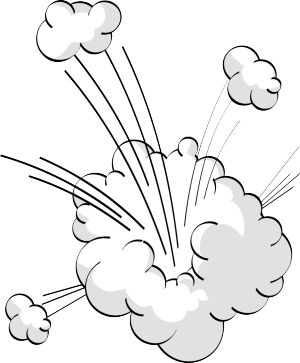 爆炸爆炸云爆炸标