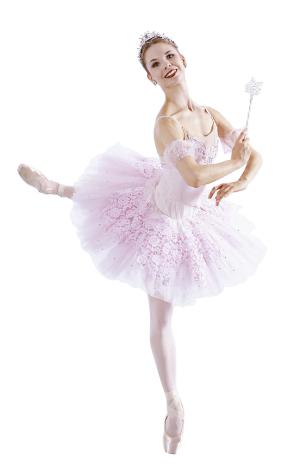 粉色芭蕾女孩