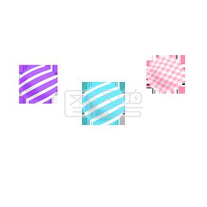 彩色扁平元素