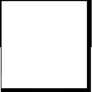 手绘图片相框素材 白纸