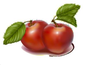 3d水果矢量图3d图片 苹果