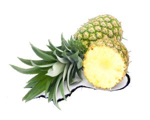 水果素材食物 菠萝