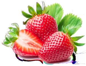 卡通3d水果图片水果矢量图草莓