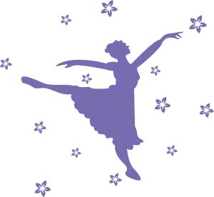 跳舞芭蕾的女孩