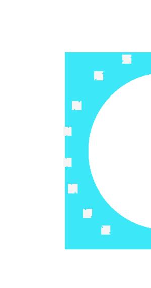半透明半圆图形
