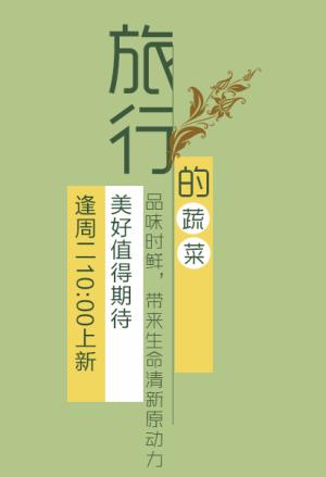 天猫民族清新风文案设计