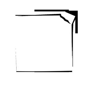 白纸撕裂一角