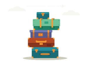 扁平化旅行箱