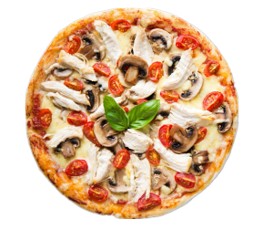 蘑菇pizza