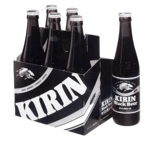 黑色啤酒瓶