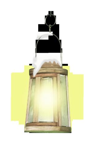 白雪照明灯