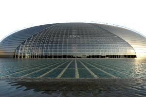 北京国家大剧院风景