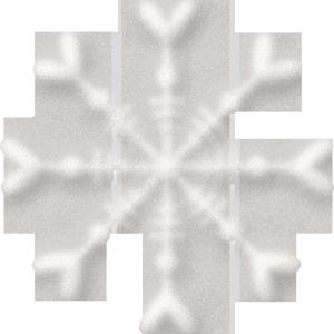 白色圣诞雪花