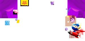 双十一紫色背景图案