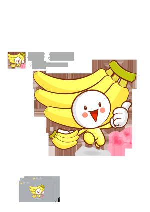 香蕉LOGO图片