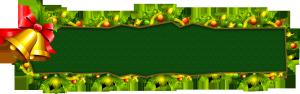 圣诞节绿色边框