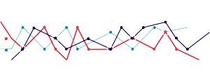 矢量数据分析PPT素材直线