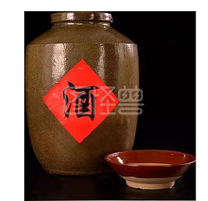 酒瓮和酒碗