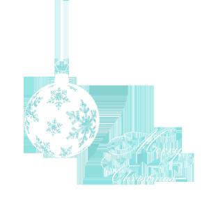 白色圣诞星星图片素材