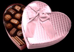 爱心礼盒巧克力