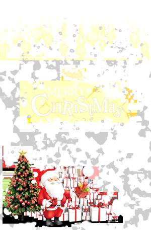 白色圣诞节雪花背景