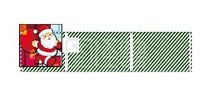 圣诞老人边框免抠素材