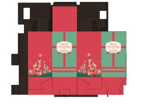 包装设计包装盒展开图