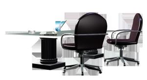 会议桌办公桌免抠素材